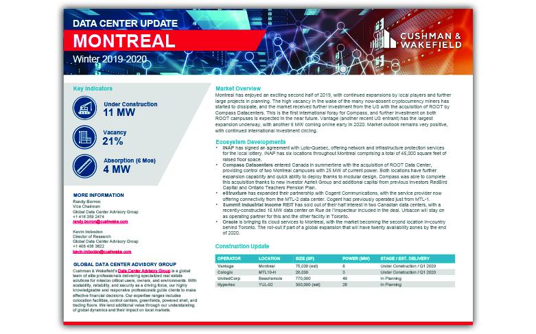 Montreal Data Centre Report Thumbnail