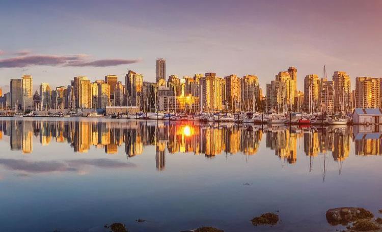 Victoria Waterfront Skyline