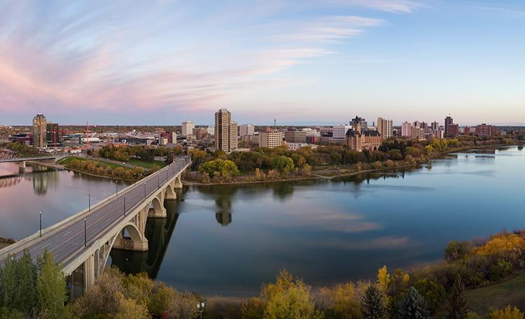 Saskatoon Canada Skyline