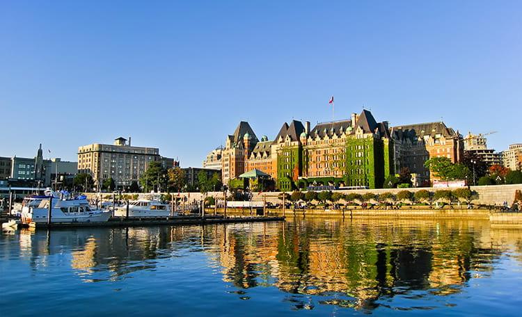 Fairmont Empress Hotel Victoria Canada