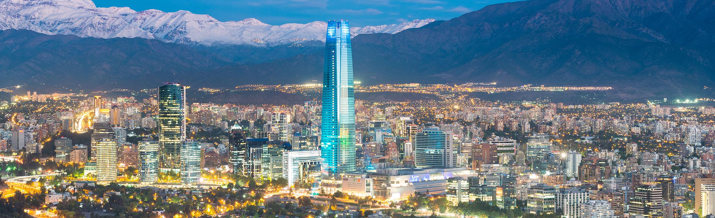 Santiago, Chile skyline
