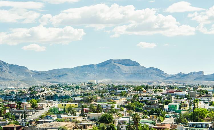 Ciudad Juarez Skyline
