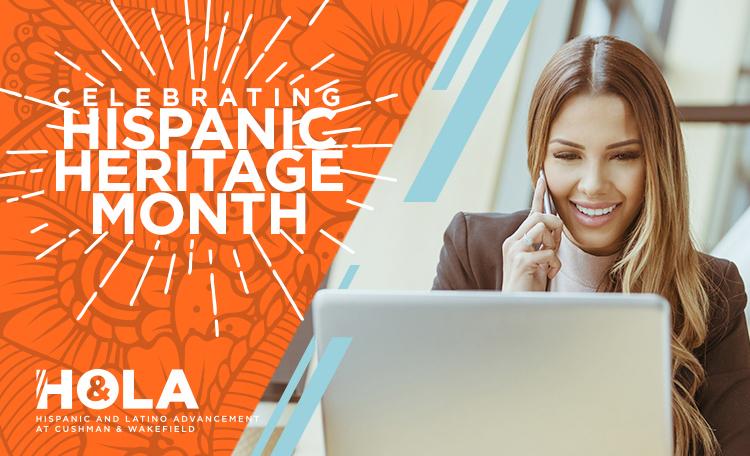 HOLA Hispanic Heritage Month Card Image