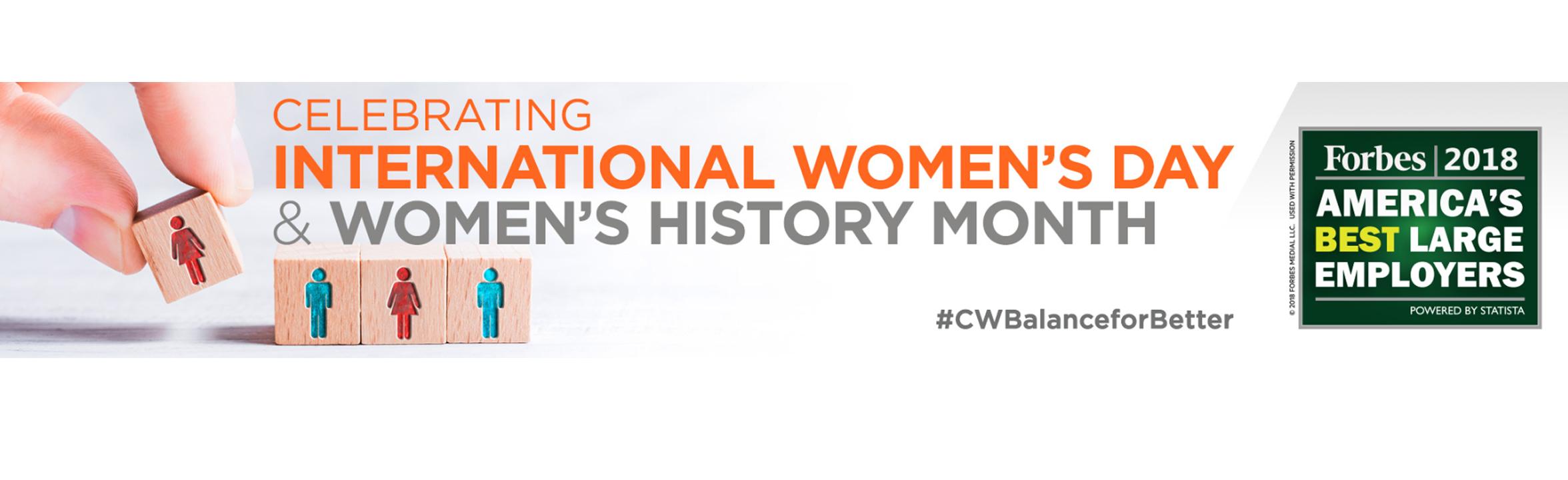 2019 International Women's Day Banner