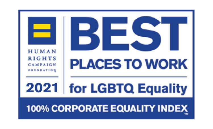 2021 Best Places to Work for LGBTQ Equality (image)