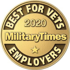 2020 Military Times Best for Vets Employers
