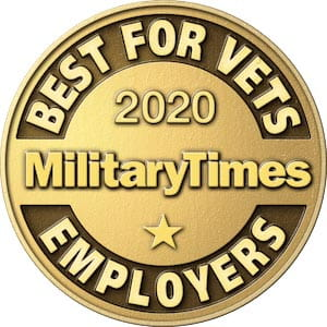 2019 Military Times Best for Vets Employers
