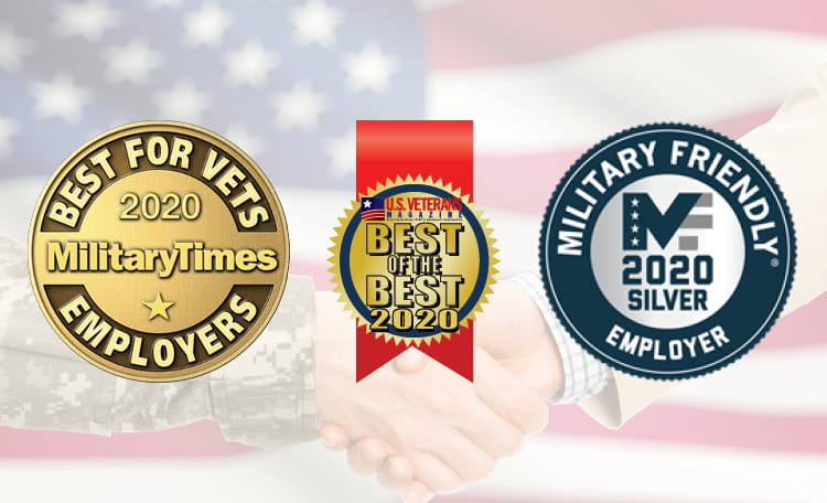 Veteran Employer Award Logos (image)
