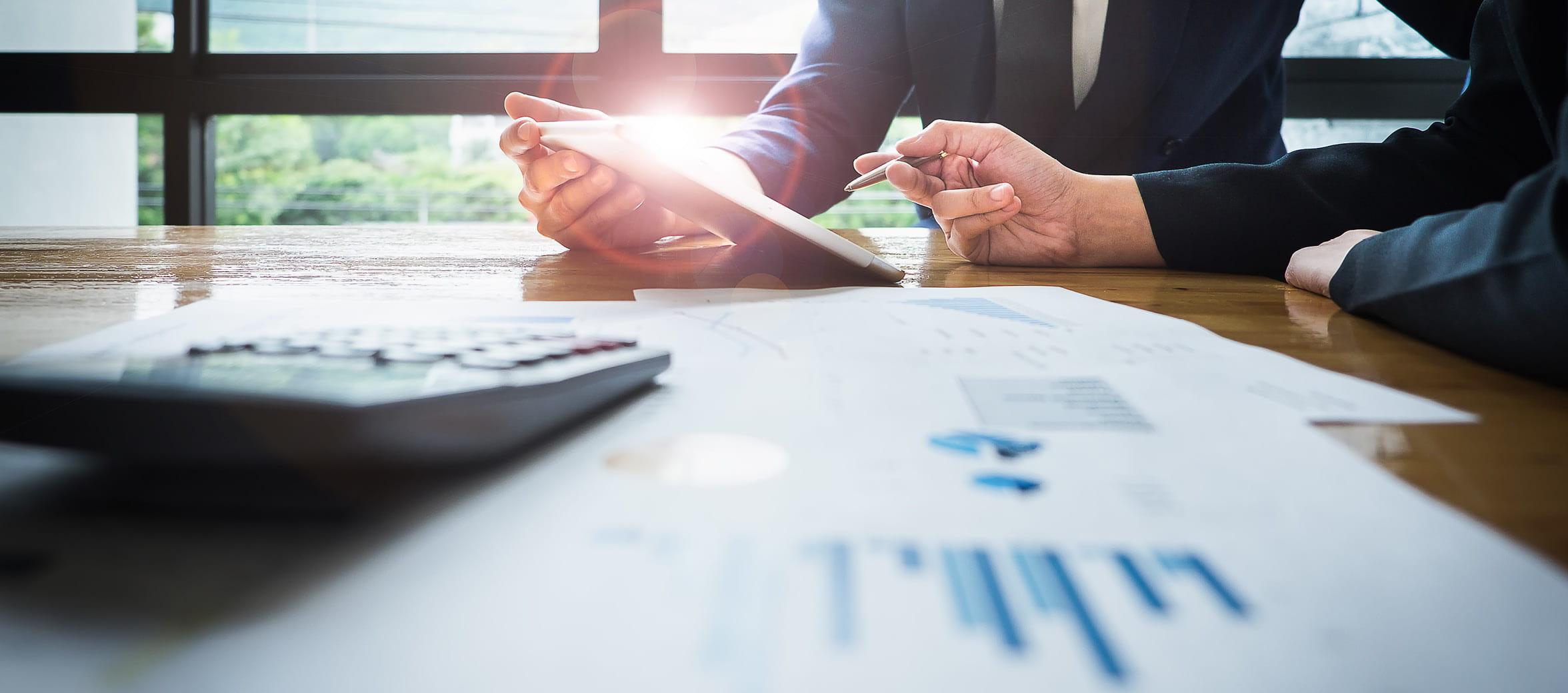 Financial Services Practice Group Desktop Hero Image