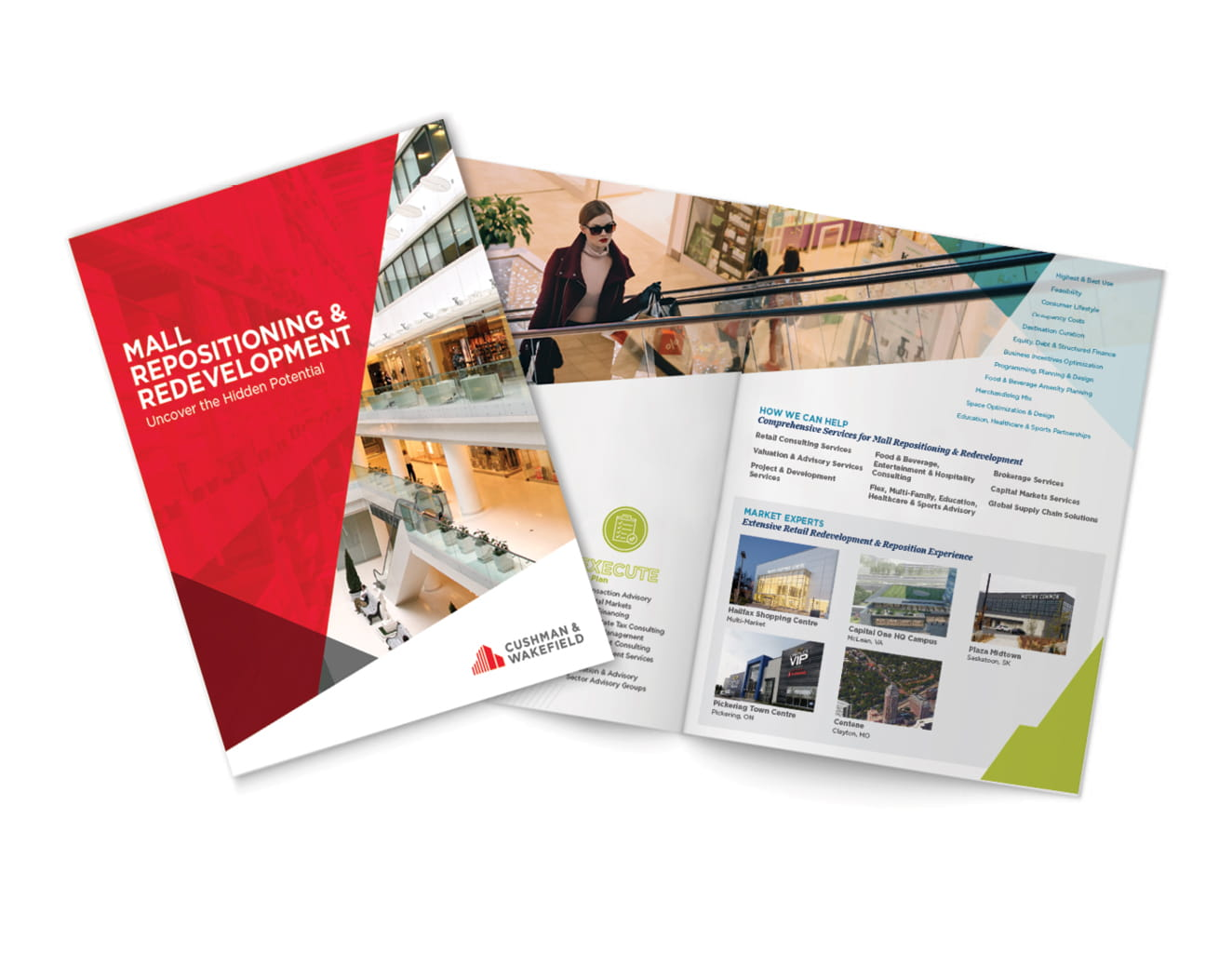 Mall Repositioning and Redevelopment Brochure Thumbnail Image