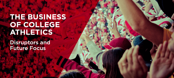 Business of College Athletics Banner