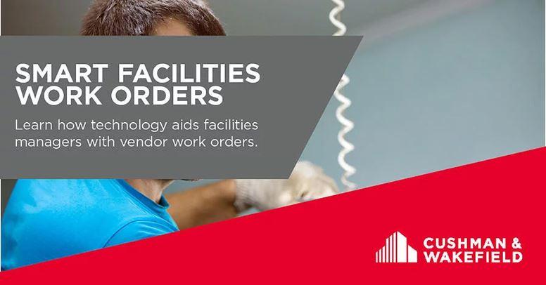 Smart Facilities Work Orders Banner
