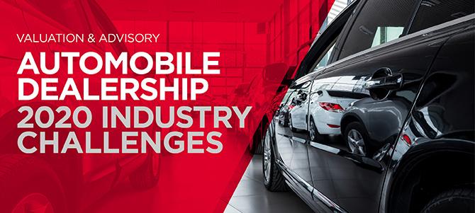 V&A Automobile Dealership Industry Challenges Banner