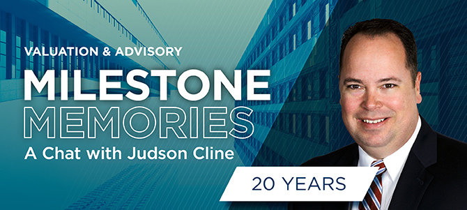 Judson Cline Milestone Memories Banner