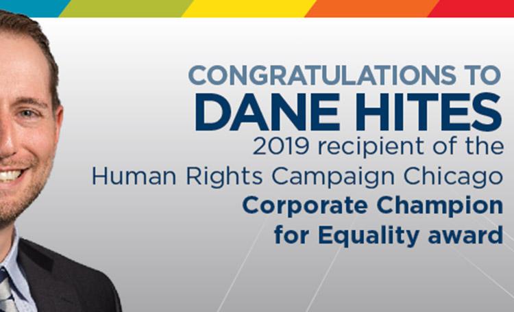 Congratulations Dane Hites