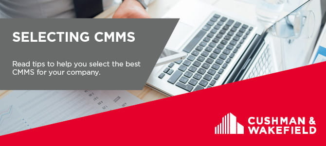 Selecting CMMS Article