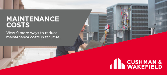 Reducing Facility Maintenance and Operations Costs Article