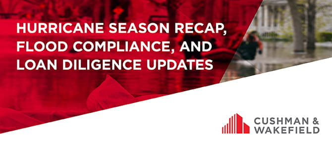Flood Compliance and Loan Diligence Updates