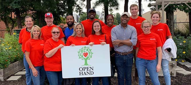 Cushman & Wakefield Atlanta volunteers, Open Hand