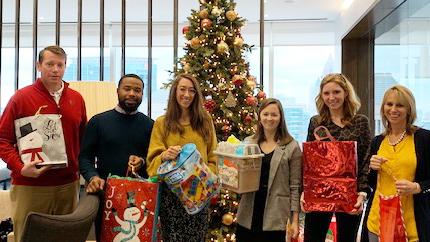 Atlanta Employees Celebrating Week of Giving