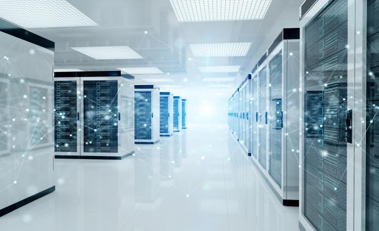 Atlanta Data Center stock photo