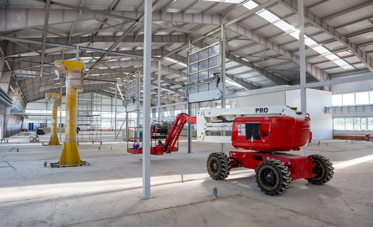 Internal Warehouse Construction
