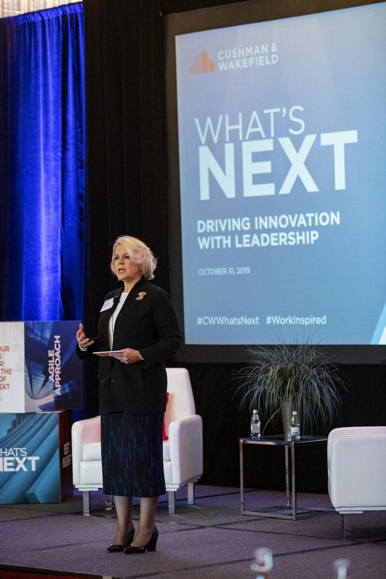 Boston Leadership Breakfast Carolyn Sidor Speaking