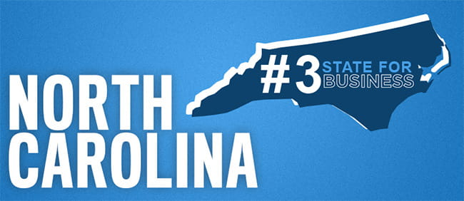 North Carolina ranked 3 banner