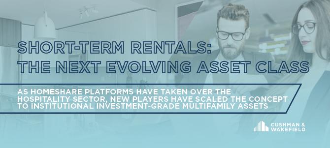 Short Term Rentals - Evolving