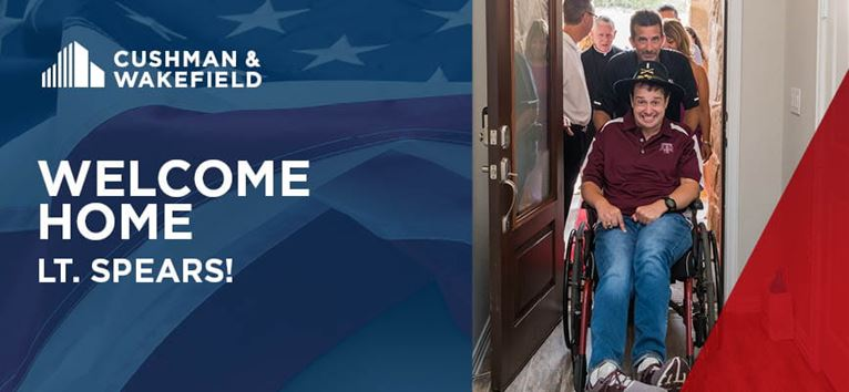 Welcome Home Lt Spears Banner