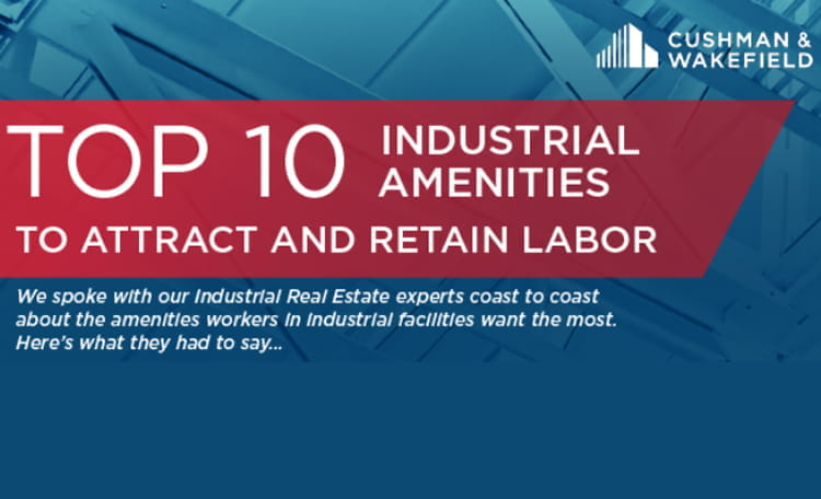 Top 10 Industrial Amenities to Attract and Retain Labor