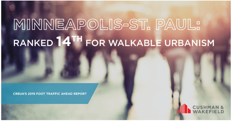 Minneapolis St Paul Ranked 14th