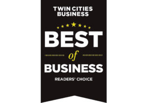 Best of Business Reader's Choice badge