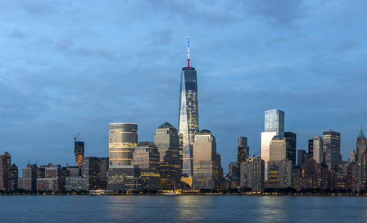 Manhattan Skyline at Dusk