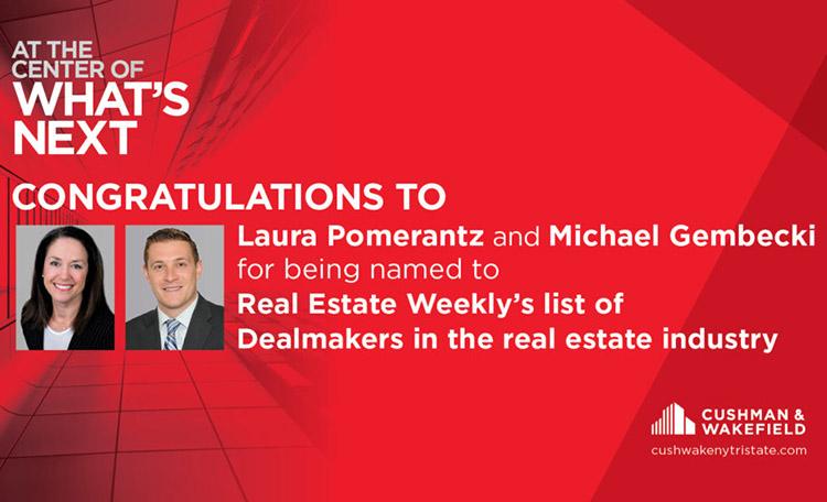 Pomerantz & Gembecki Named Top Dealmakers