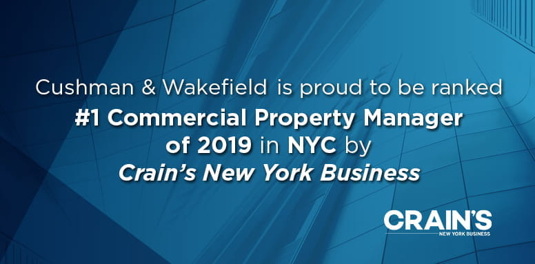 Crain's Top Commercial Property Manager