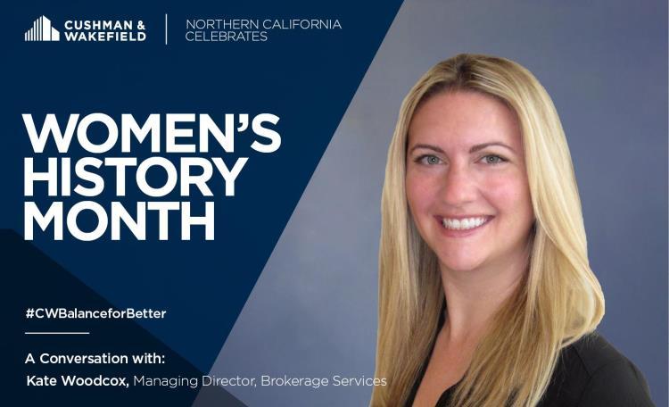 Kate Woodcox Women's History Month 2019
