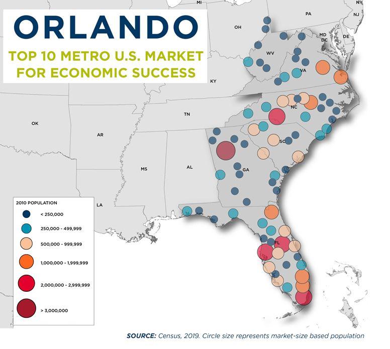 Orlando Economic Success Map