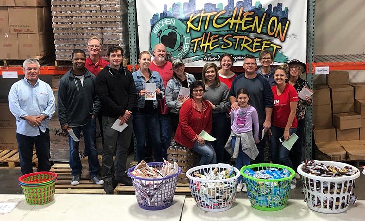 CWFL Packs Bags of Hope in Phoenix