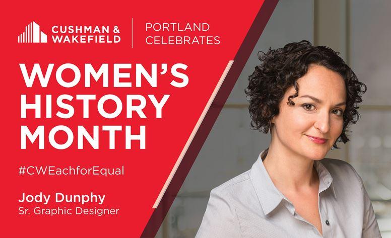 Jody Dunphy Women's History Month