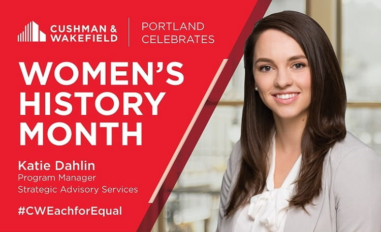 Katie Dahlin Womens History Month