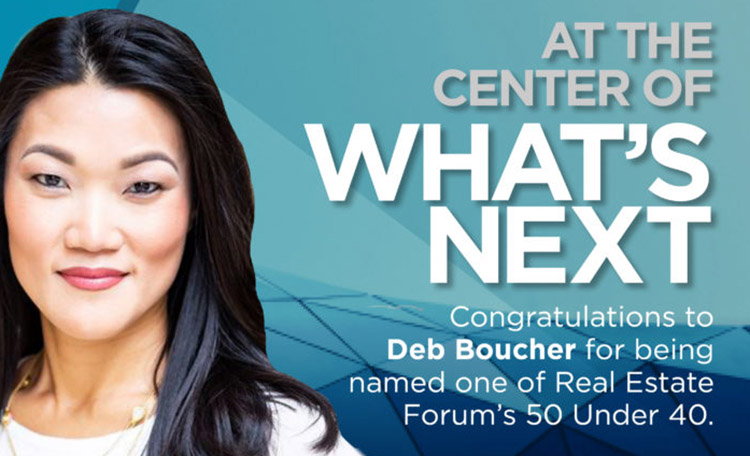 Deb Boucher Named 50 Under 40