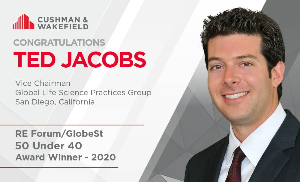 Ted Jacobs 50 Under 40 GlobeSt