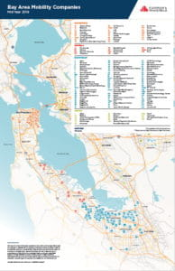 Bay Area Mobility Companies_Map_MidYear 2019 Thumbnail image