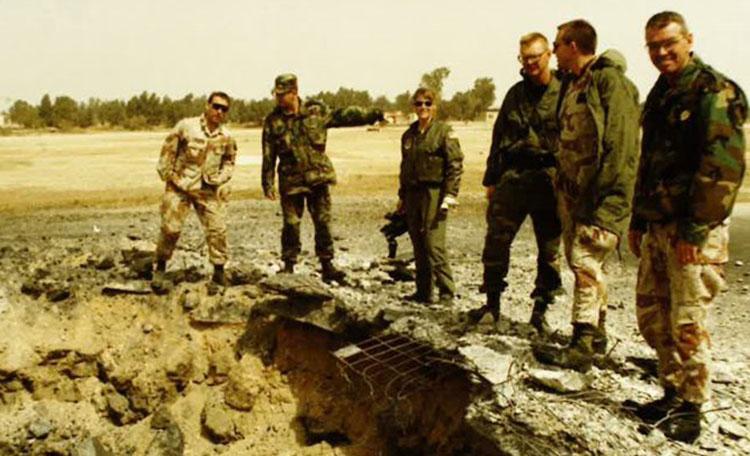 Rick Cenkus Military Group Photo