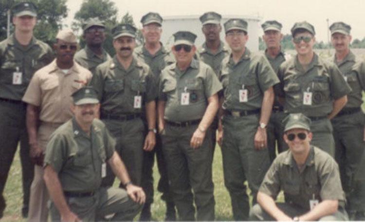 Tim Tolson Navy Group Photo