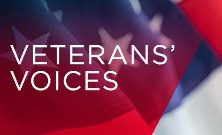Veterans' Voices card