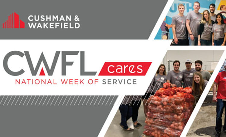 CWFL Cushman Cares National Week of Service