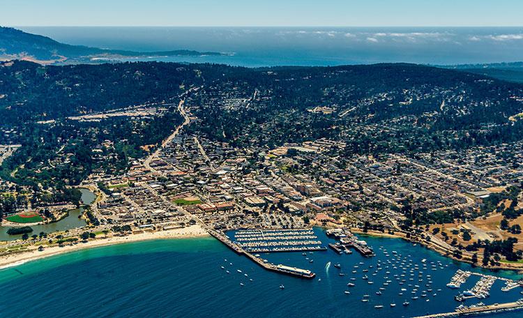 Monterey skyline
