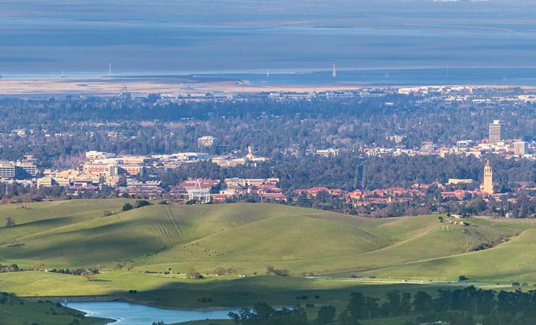 Palo Alto skyline